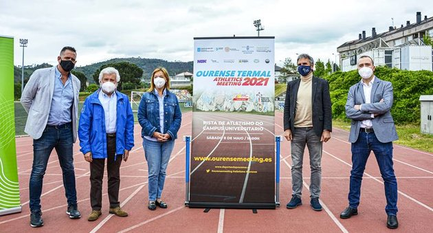 Presentación do Ourense Termal Athletics Meeting 2021