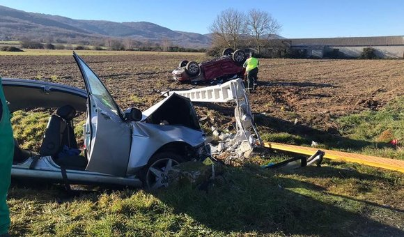 Grave accidente na Limia