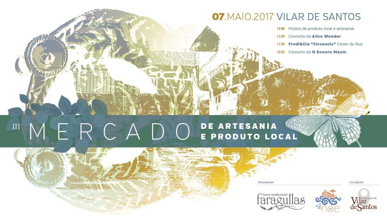 Terceira edición do Mercado de Artesanía e Produto Local de Vilar de Santos